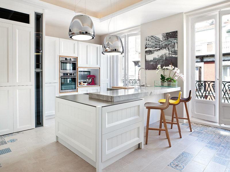 Ideas de decoración: Cocinas con look factory - Pisos exclusivos en ...